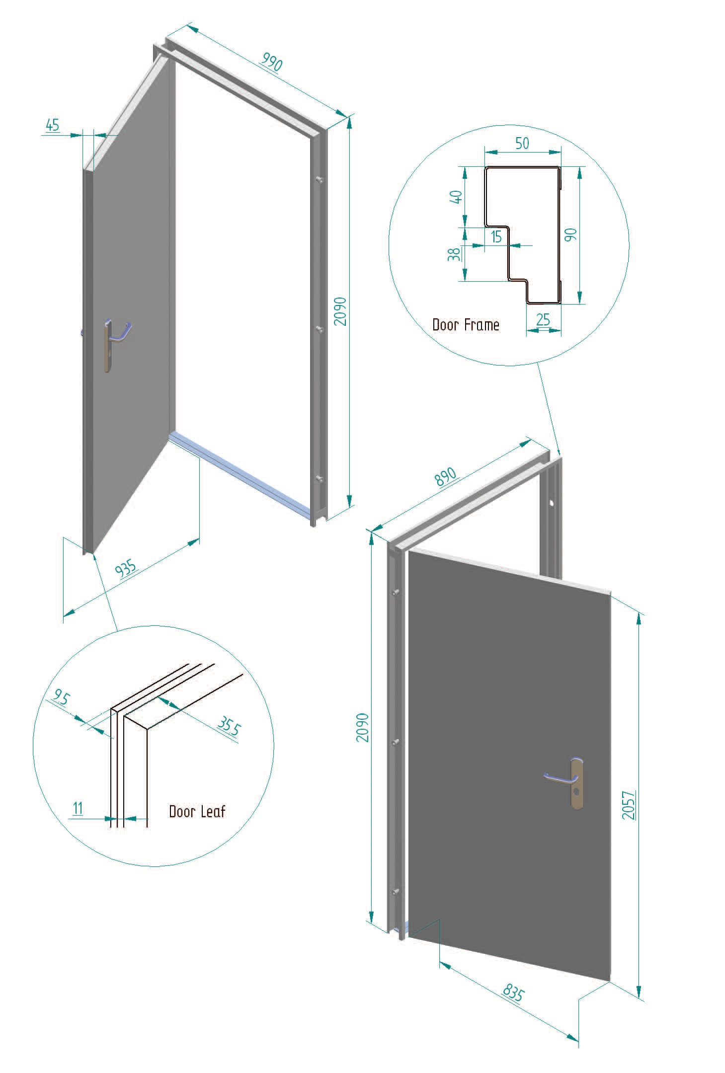 Neco mk1 wiring diagram 23 wiring diagram images for Door dimensions